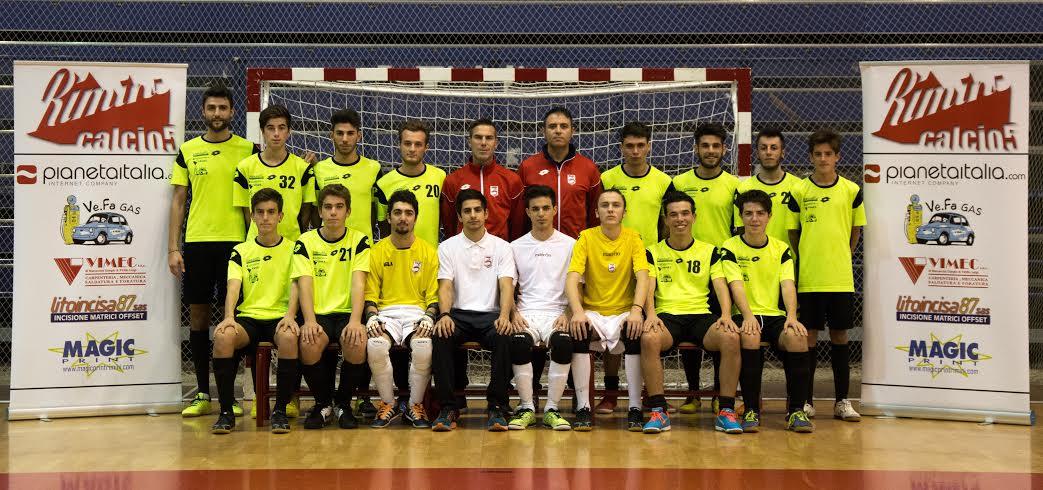 Calcio a 5 Juniores. Il Rimini saluta i play off