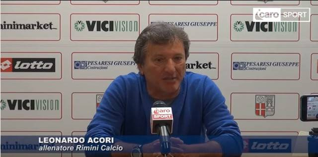 Rimini-Savona, Leonardo Acori non si fida