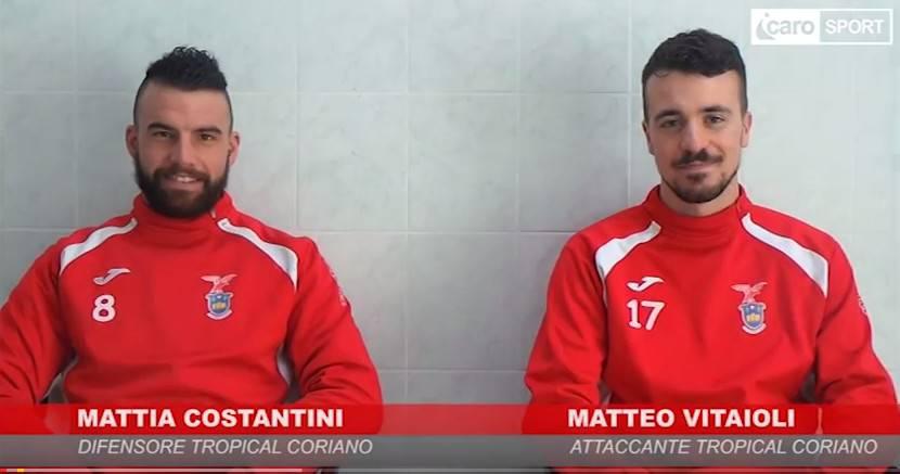 Tropical Coriano. Intervista doppia a Mattia Costantini e Matteo Vitaioli