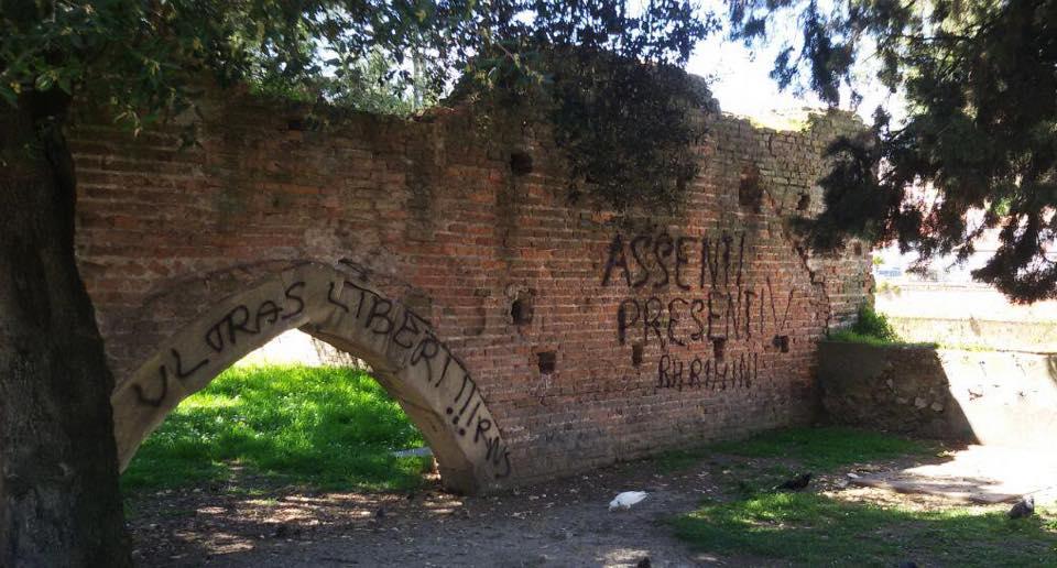 Scritte su Porta Galliana