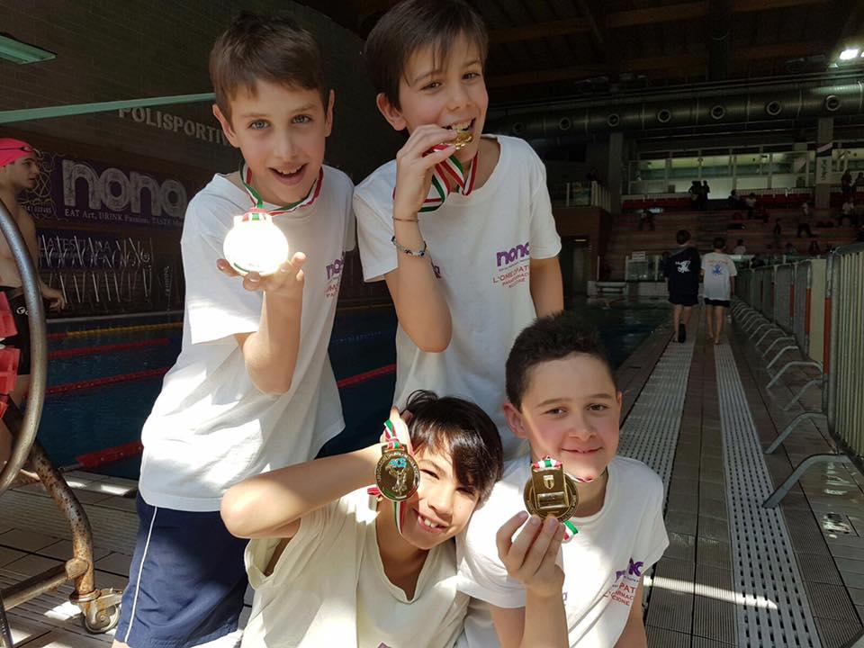 Pioggia di medaglie per gli Esordienti del Nuoto Riccione agli Swimming Games (gallery)