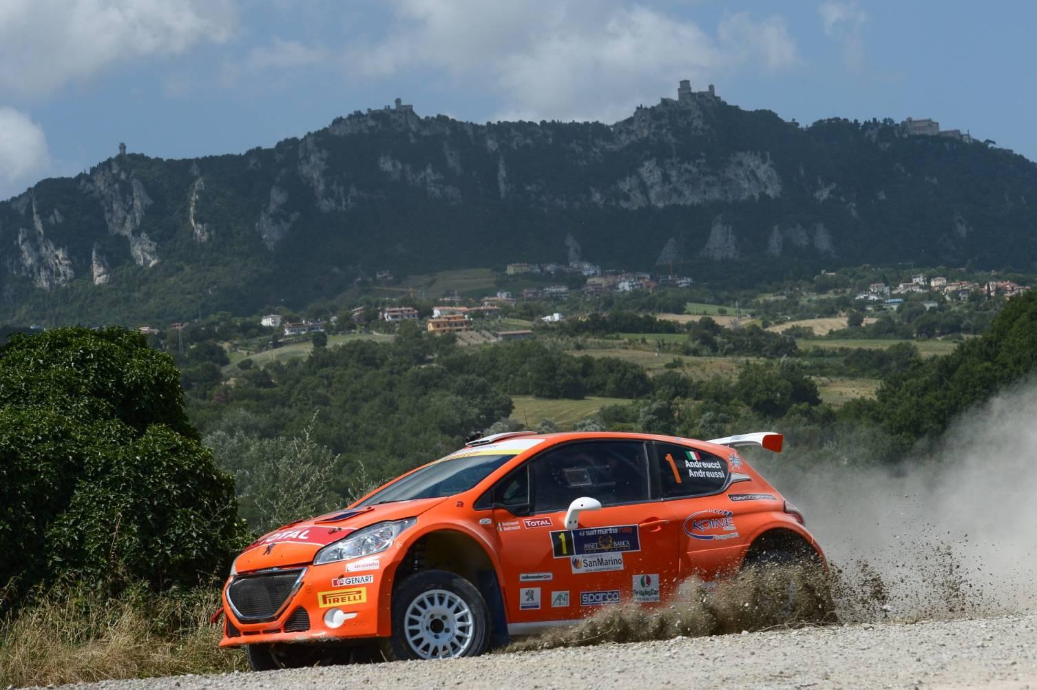 San Marino Rally 2016 all'insegna delle novità