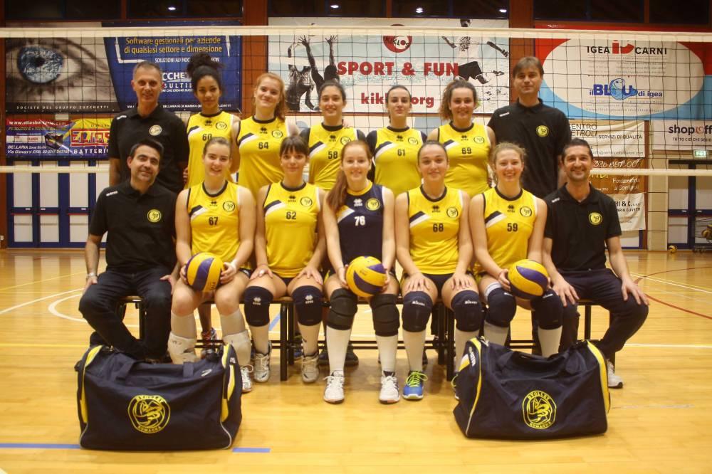Fipav Rimini. Il punto sui campionati: il San Raffaele vince l'U16 Femminile Arcobaleno