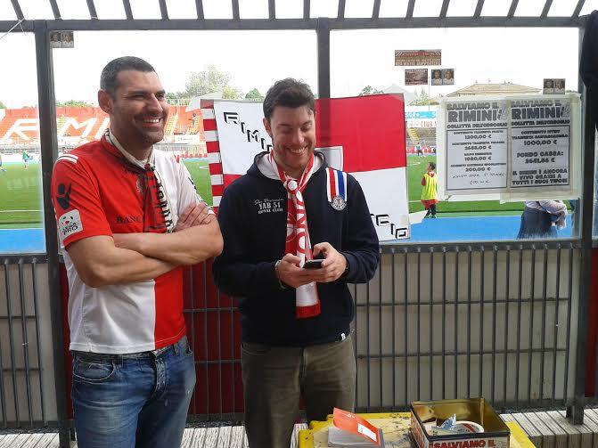 Rimini Calcio. La trasferta a L'Aquila pagata con la