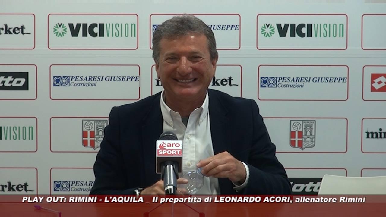 Ritorno dei play out, Rimini-L'Aquila