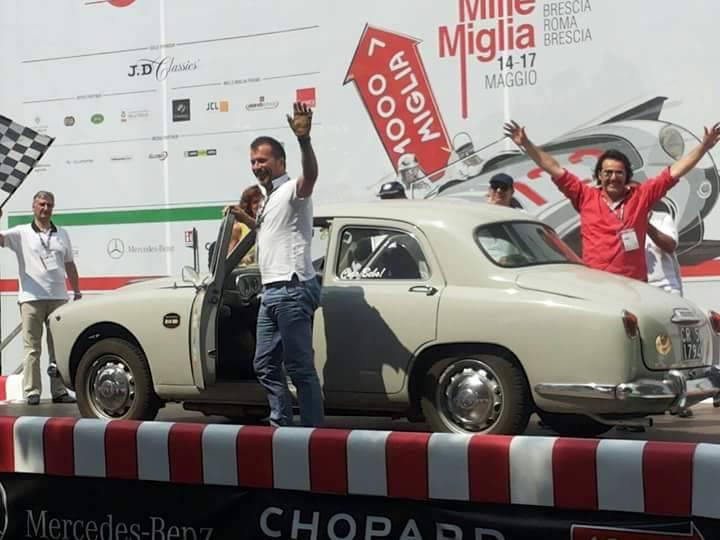 Aspettando la Mille Miglia, domenica il Borgo San Giuliano fa festa con l'equipaggio riminese