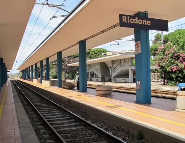 A Riccione si arriva sempre più in treno: +26,8% sul 2016