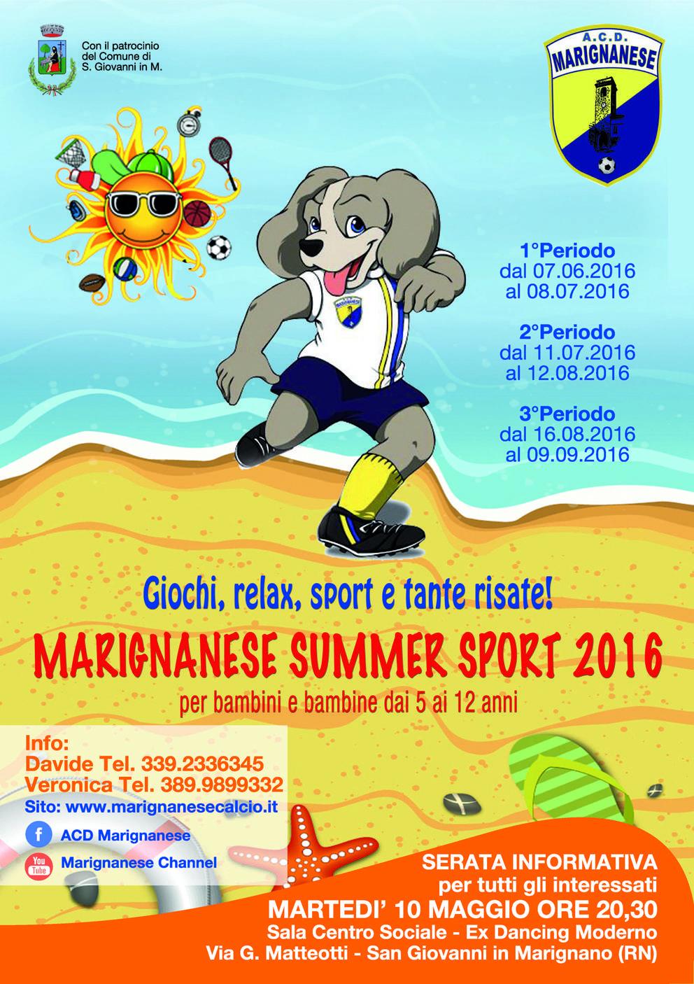 Marignanese Summer Sport