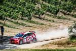 44° San Marino Rally. Basso in testa, Andreucci KO