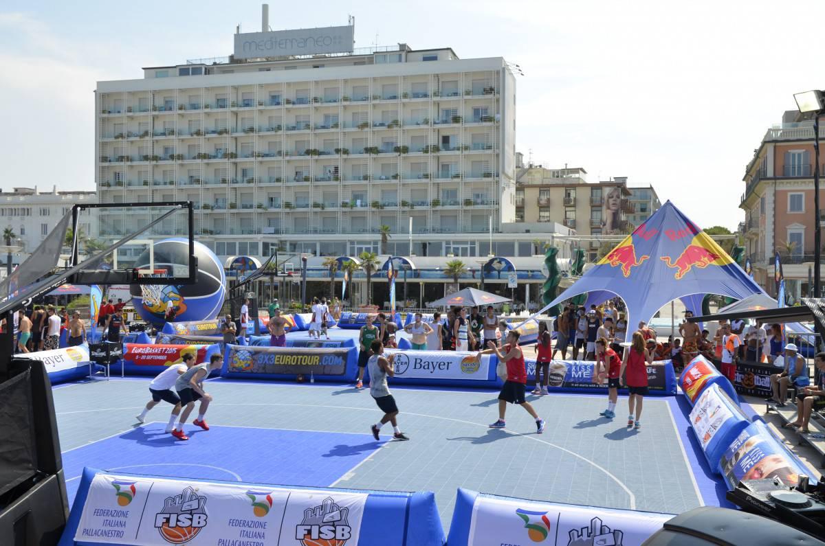 A Riccione lo spettacolo dello Streetball con le finali dell'Italian Tour della Fisb