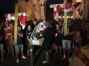 funerale della Rimini Calcio