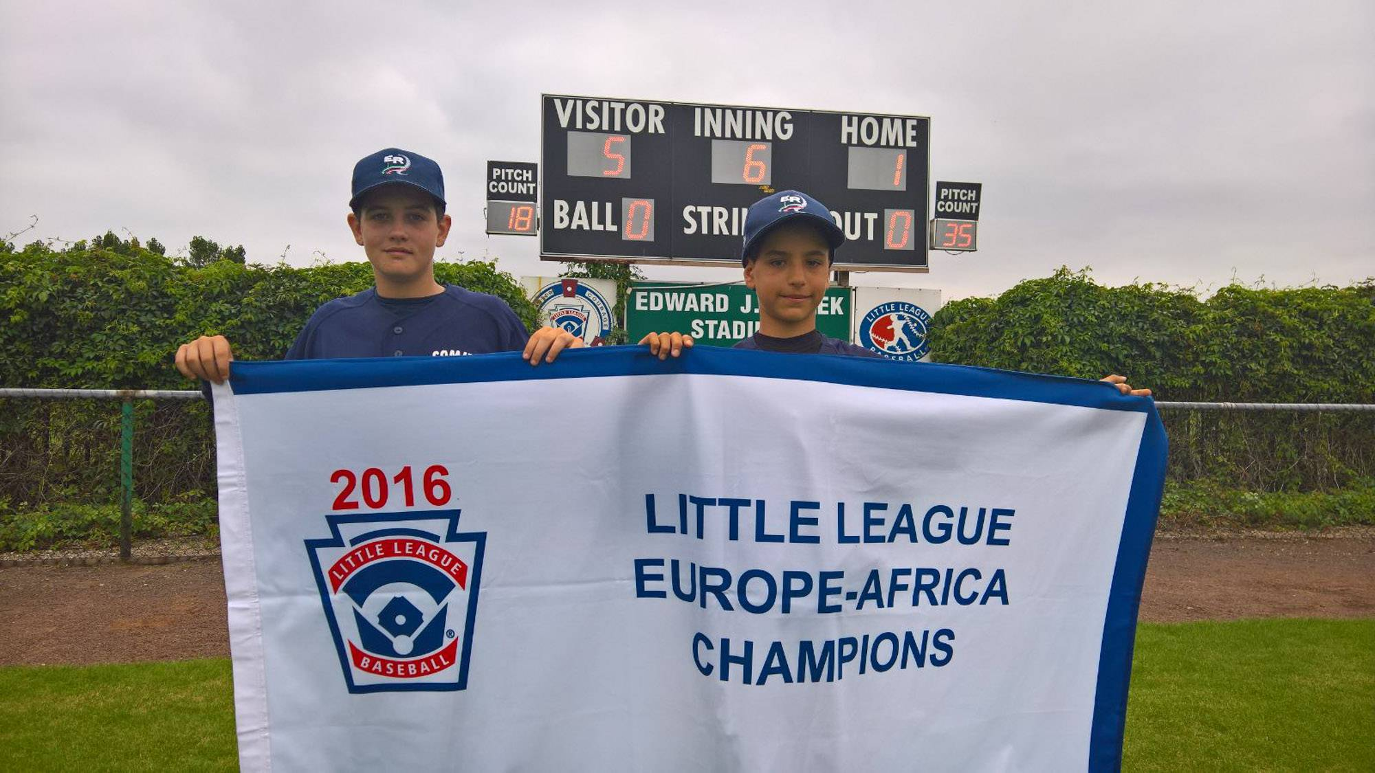 Simone Ioli ed Elia Sartini volano alle Little League World Series