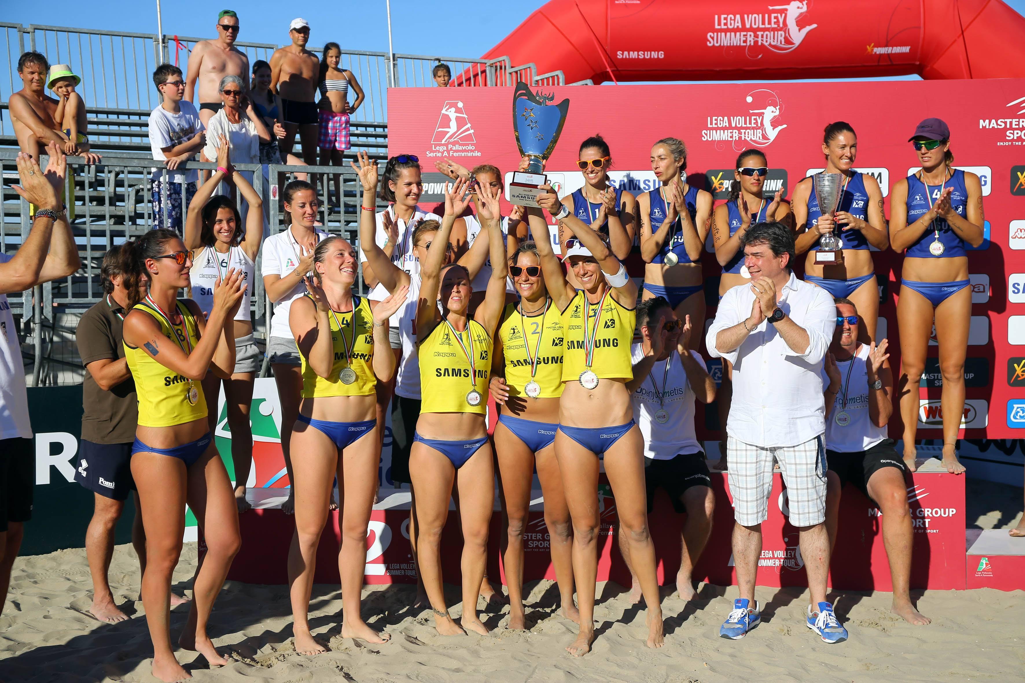 Master Group Sport Lega Volley Summer Tour: l'All Star Team dà spettacolo a Riccione
