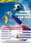 Santarcangelo Calcio. Aperta la campagna abbonamenti 2016-2017
