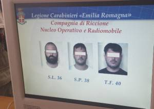 gli arrestati (Newsrimini.it)
