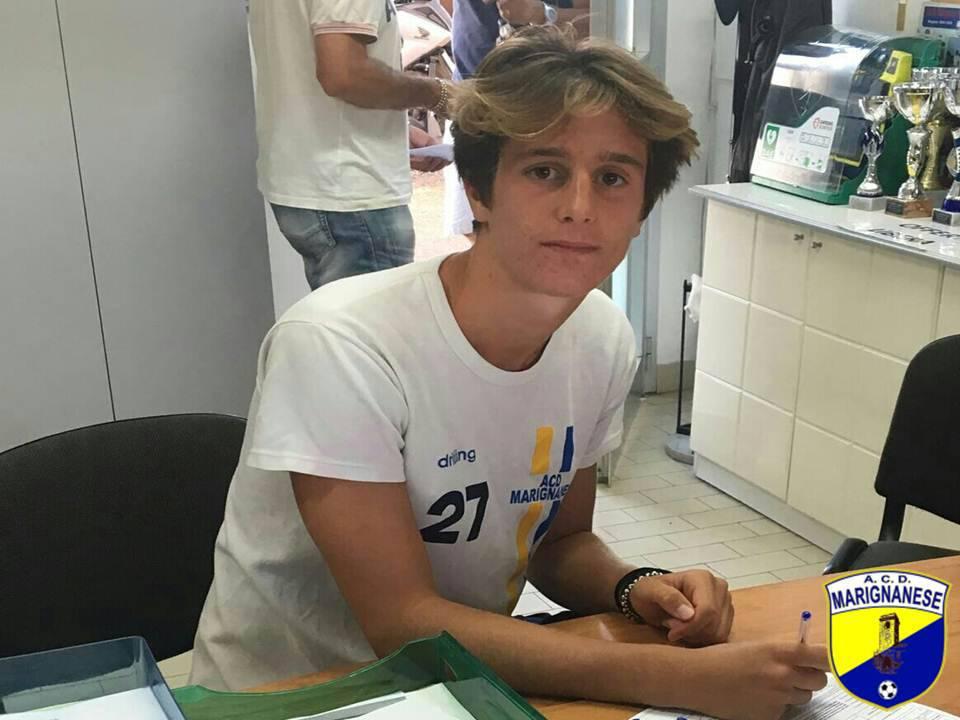 Luca Righetti è un calciatore della Marignanese