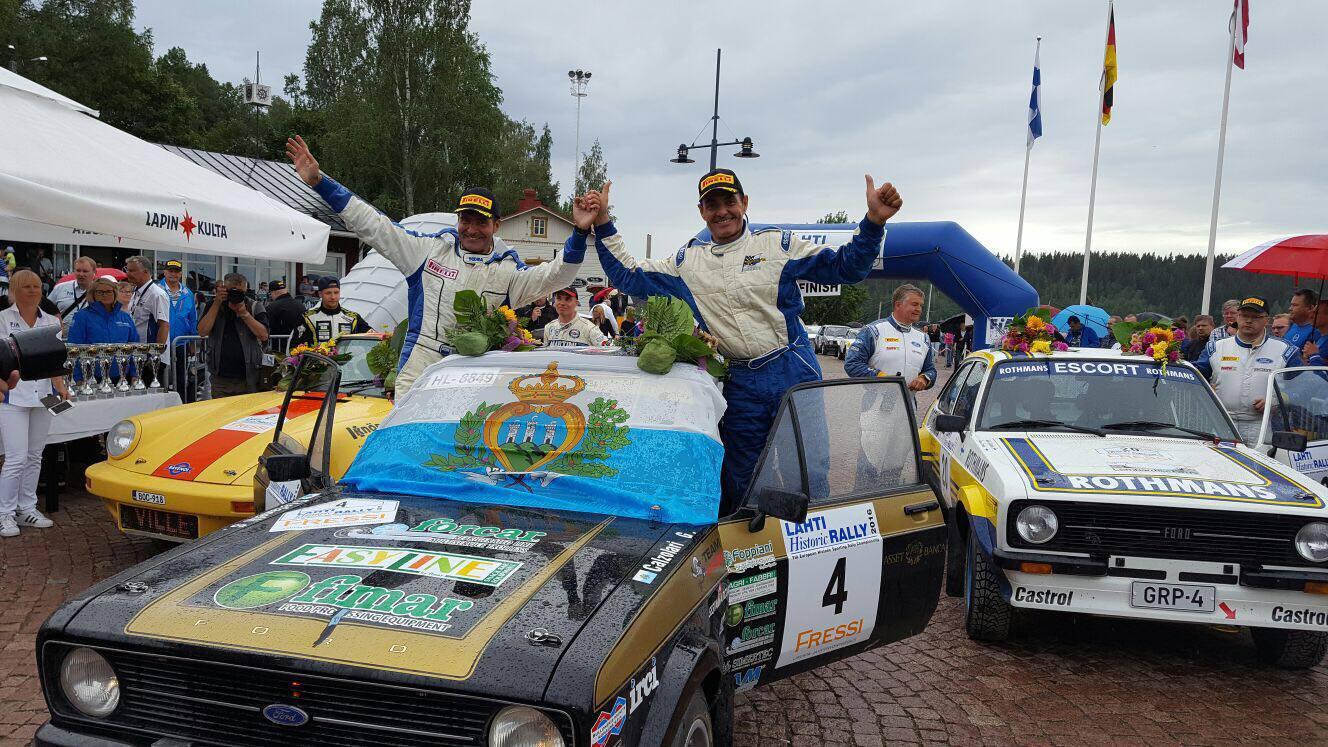 Giuliano Calzolari e Silvio Stefanelli conquistano la Finlandia