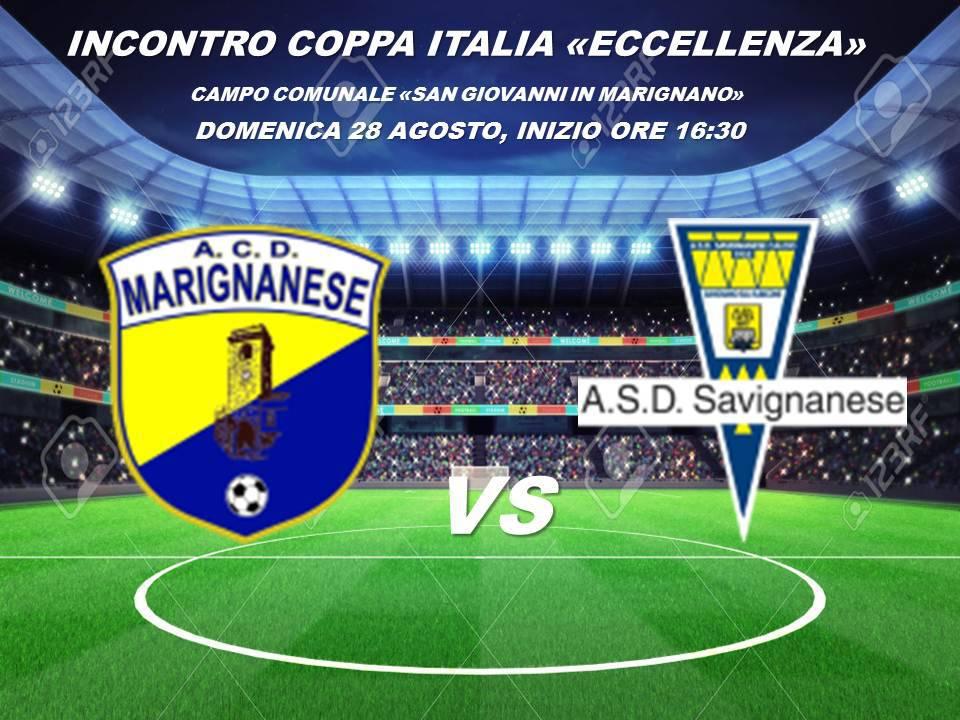 Coppa Italia Eccellenza. Marignanese-Savignanese 1-2