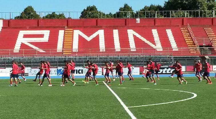 amichevole del Rimini FC con il San Marino