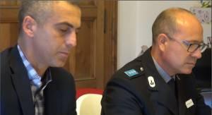 Sadegholvaad e il vicecomandante Rossi