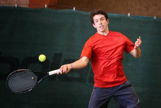 San Marino Tennis Academy. Federico Bertuccioli in semifinale al Torneo Open di Fano