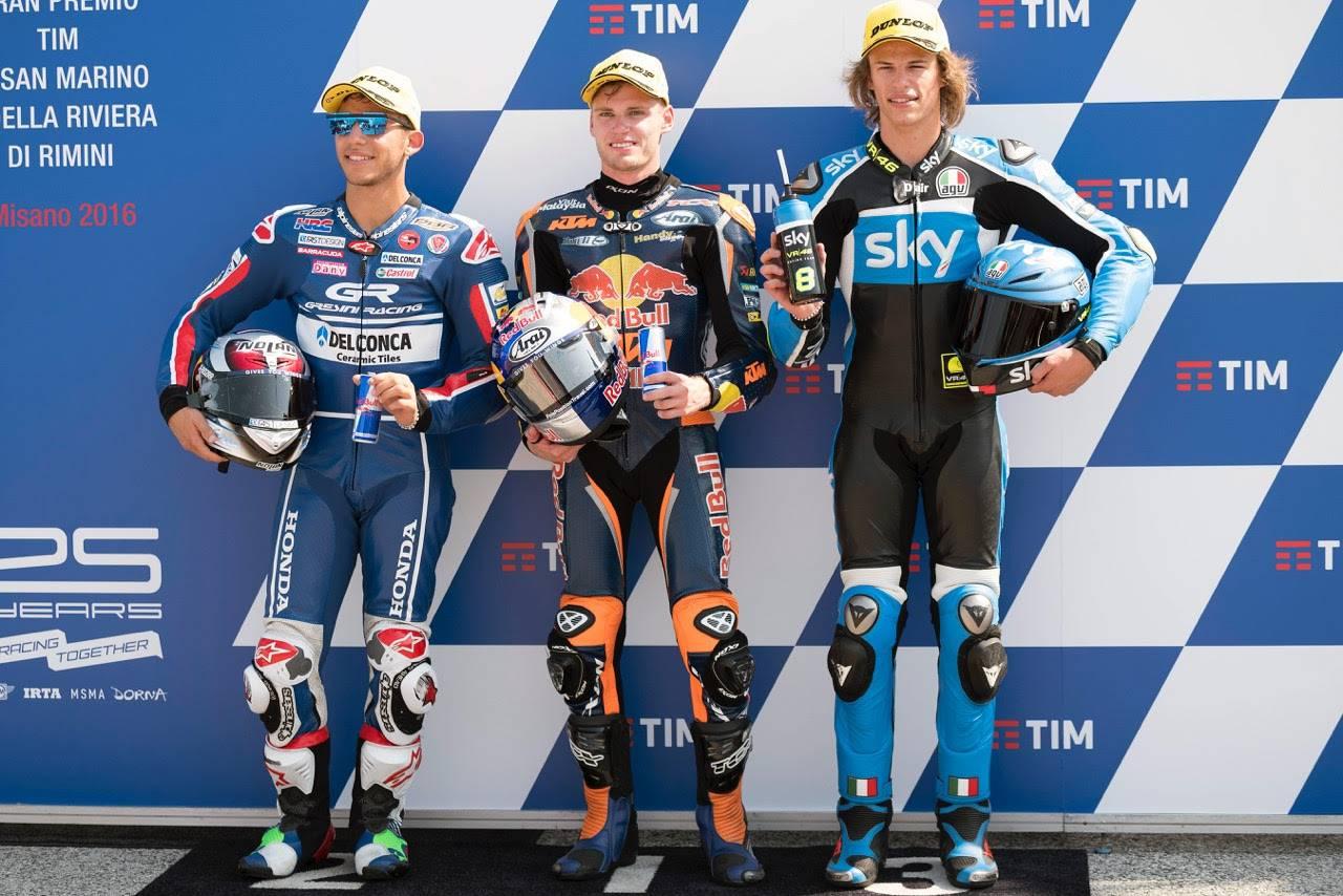 Nicolò Bulega scatterà dalla terza casella della griglia di partenza nel GP Tim di San Marino e della Riviera di Rimini