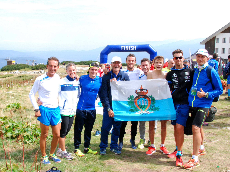 La nazionale sammarinese si è fatta onore ai Campionati Mondiali di Corsa in Montagna in Bulgaria