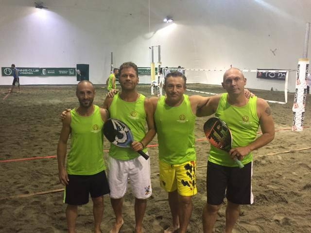 campionato maschile di beach tennis