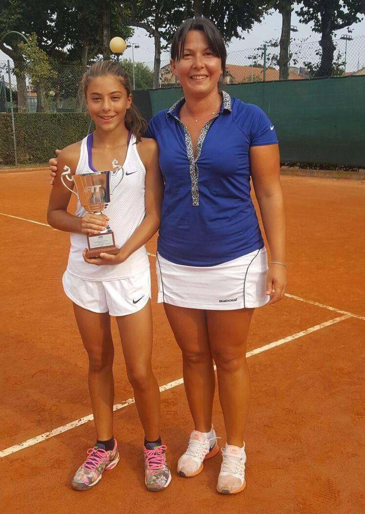 portacolori del Tennis Club Riccione