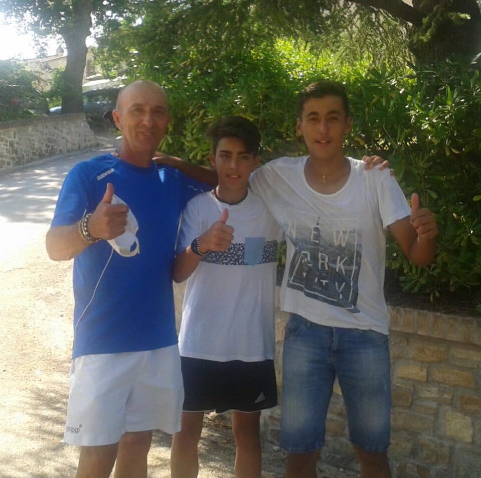 L'Under 14 maschile del Tennis Club Riccione alla Final Eight dei Campionati italiani a squadre