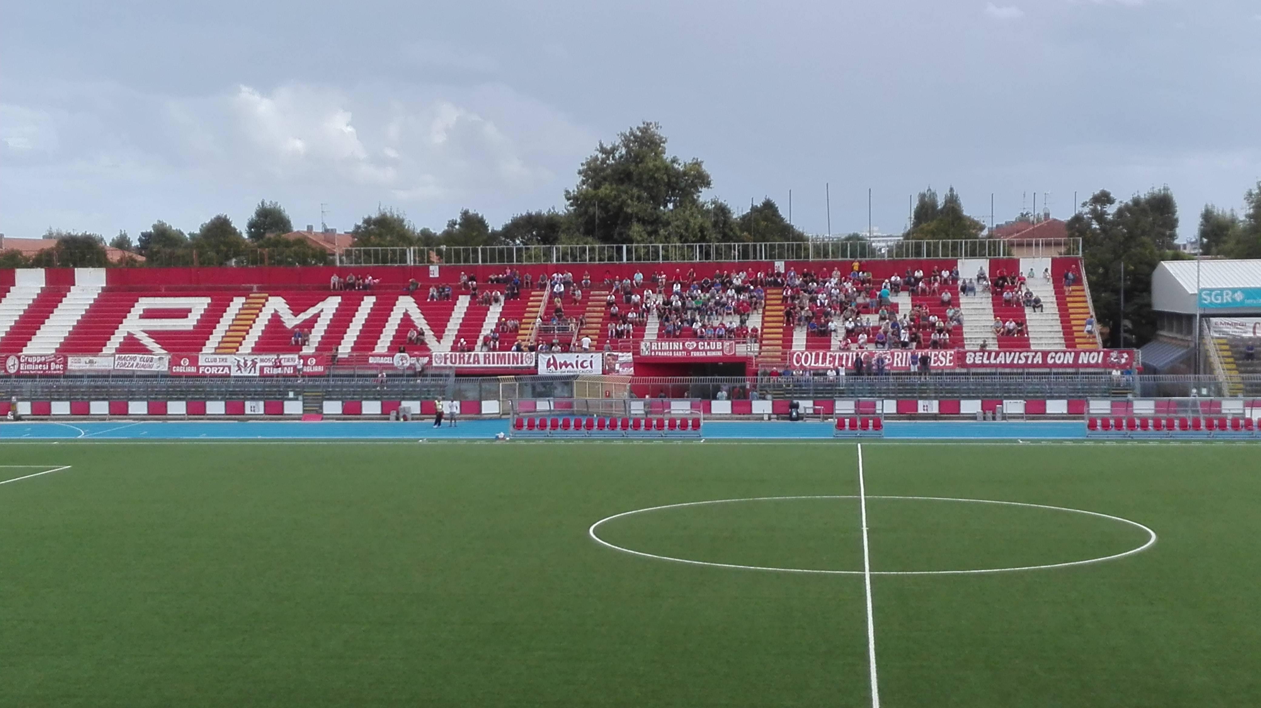 Riimni FC - Romagna Centro si giocherà a porte chiuse