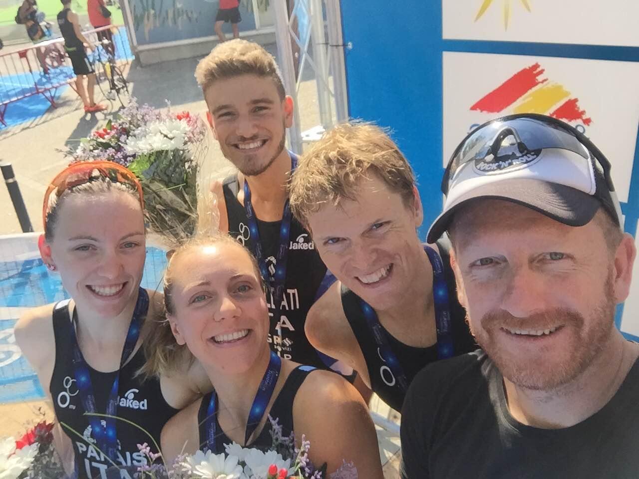 Il Triathlon Duathlon Rimini è argento al Campionato Europeo per Team