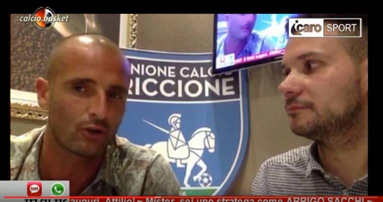 Unione Calcio Riccione. La presentazione della stagione 2016-2017 al Ritz Caffè su Icaro TV (canale 91)