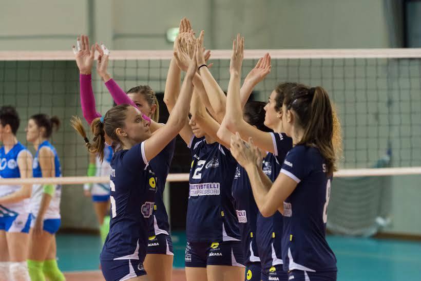 Riscatto della Battistelli San Giovanni in M. nel test di allenamento con la Neruda Volley (2-2)