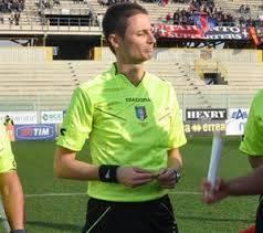 L'arbitro Luca Detta