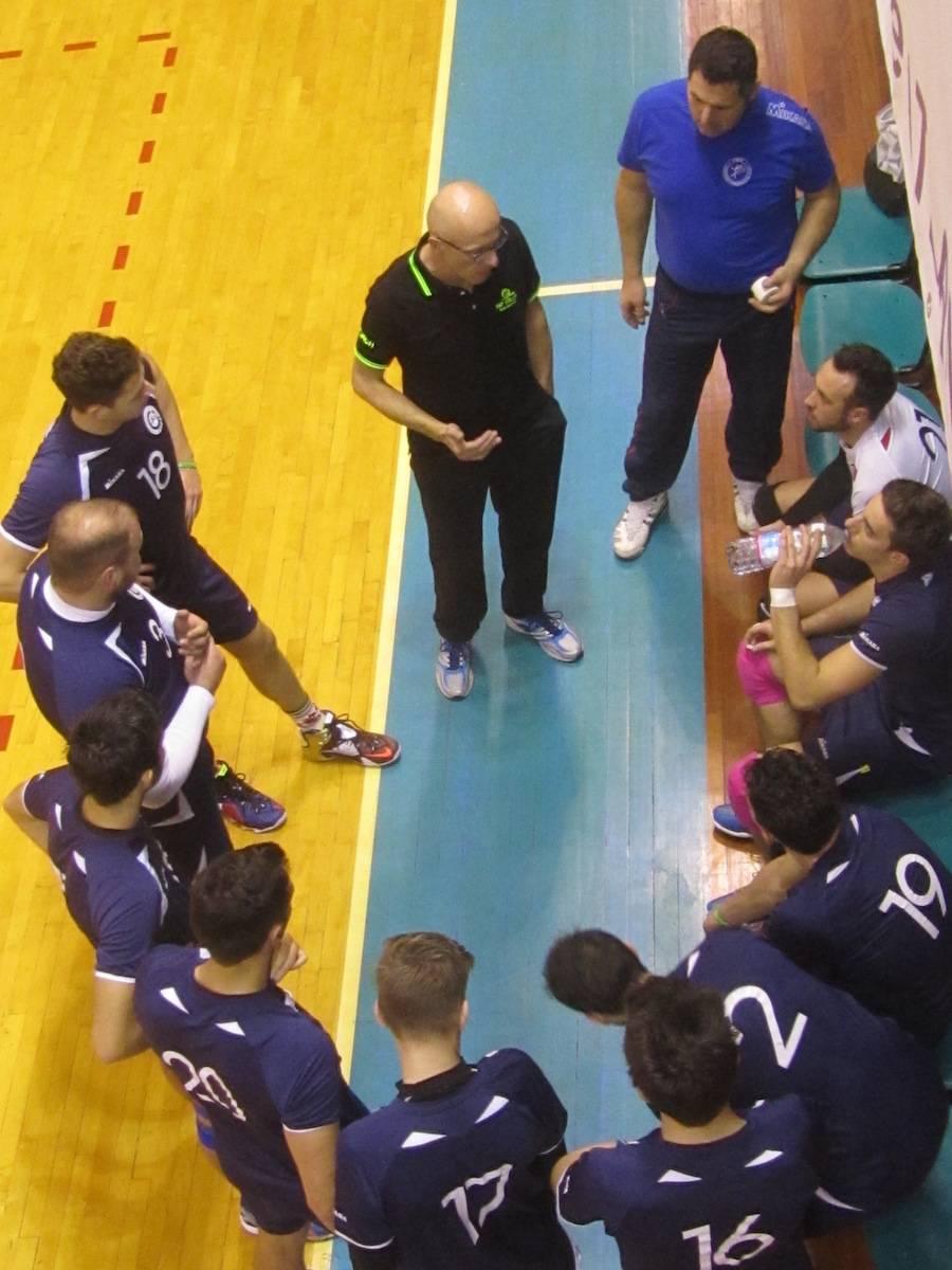 La nazionale sammarinese maschile di volley al torneo di San Martino in Strada