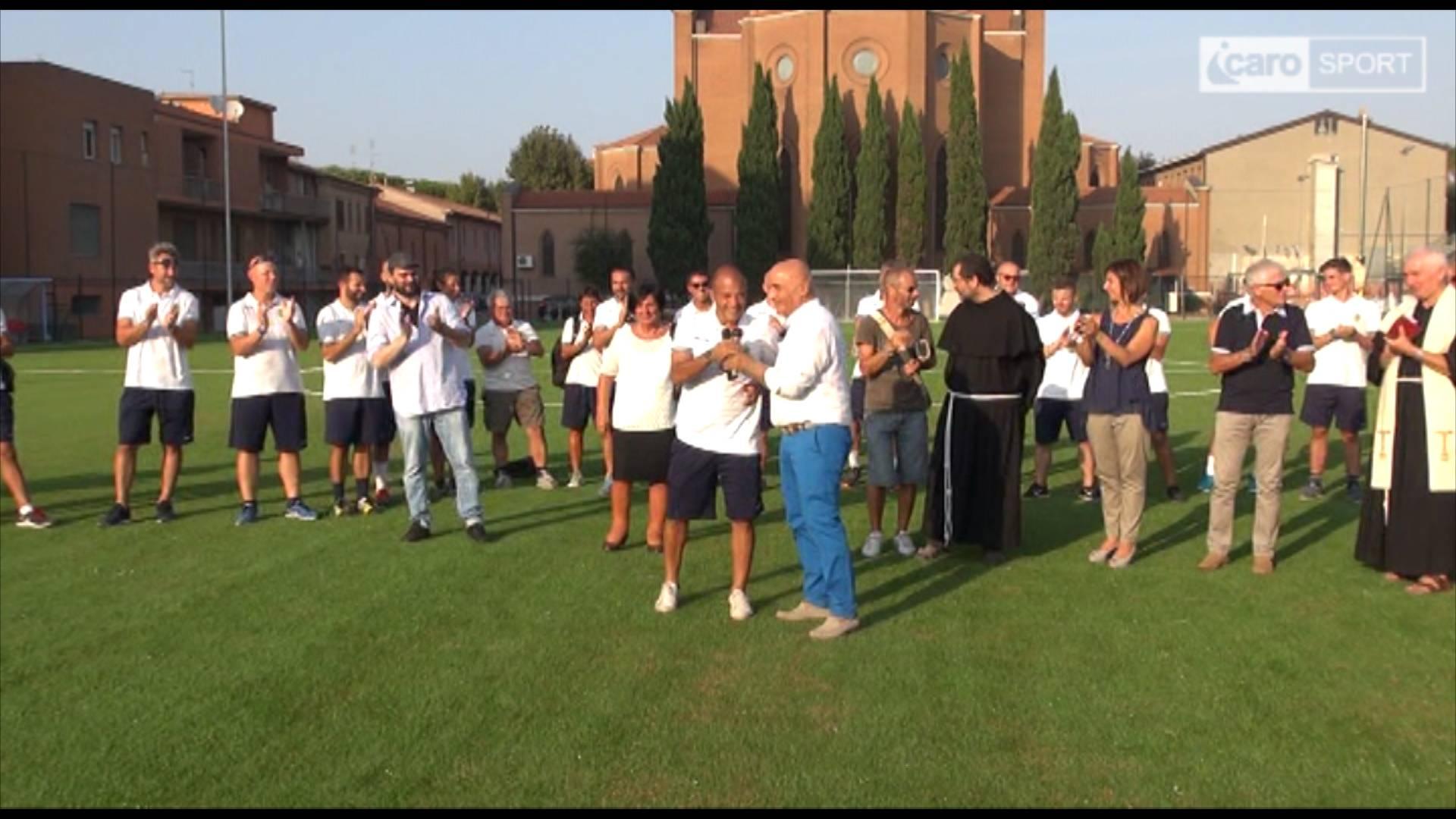 Accademia Riminicalcio VB e Bellariva Calcio. Inaugurato il nuovo centro sportivo di Bellariva (video)