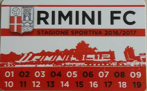 Rimini FC. Abbonamenti, superata quota 1.620