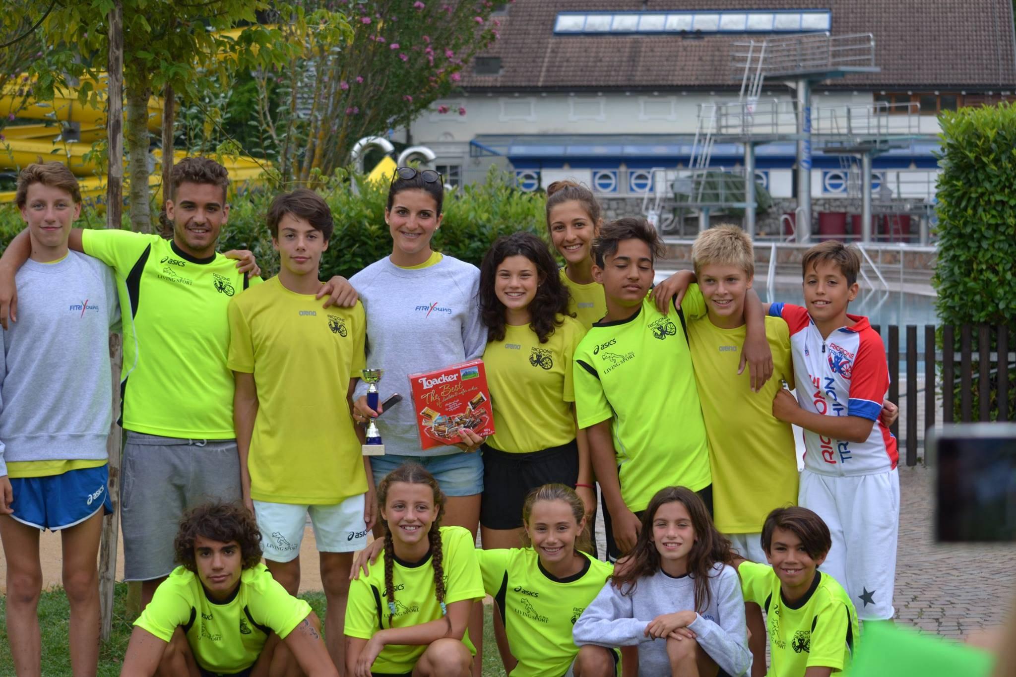 Domenica 18 settembre il 2° Triathlon Città di Riccione organizzato dalla sezione Triathlon della Polisportiva