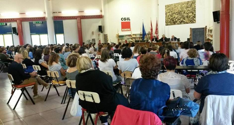 Scuole, affollata assemblea sindacale. Morolli (CGIL): pronti a mobilitazione