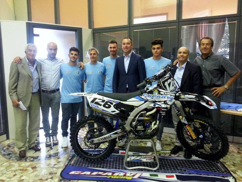 Presentata la squadra sammarinese al via del Motocross delle Nazioni, a Maggiora il 24 e 25 settembre