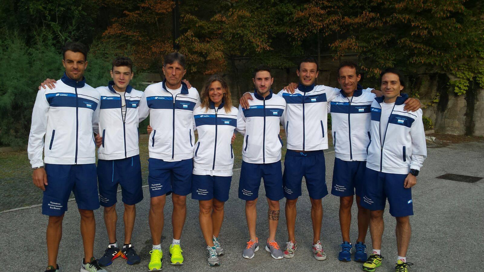 La nazionale sammarinese ai Campionati Mondiali di Corsa in Montagna