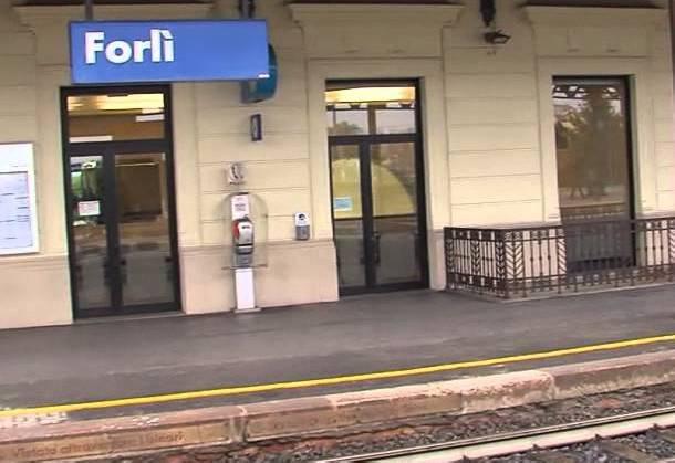 la stazione di Forlì
