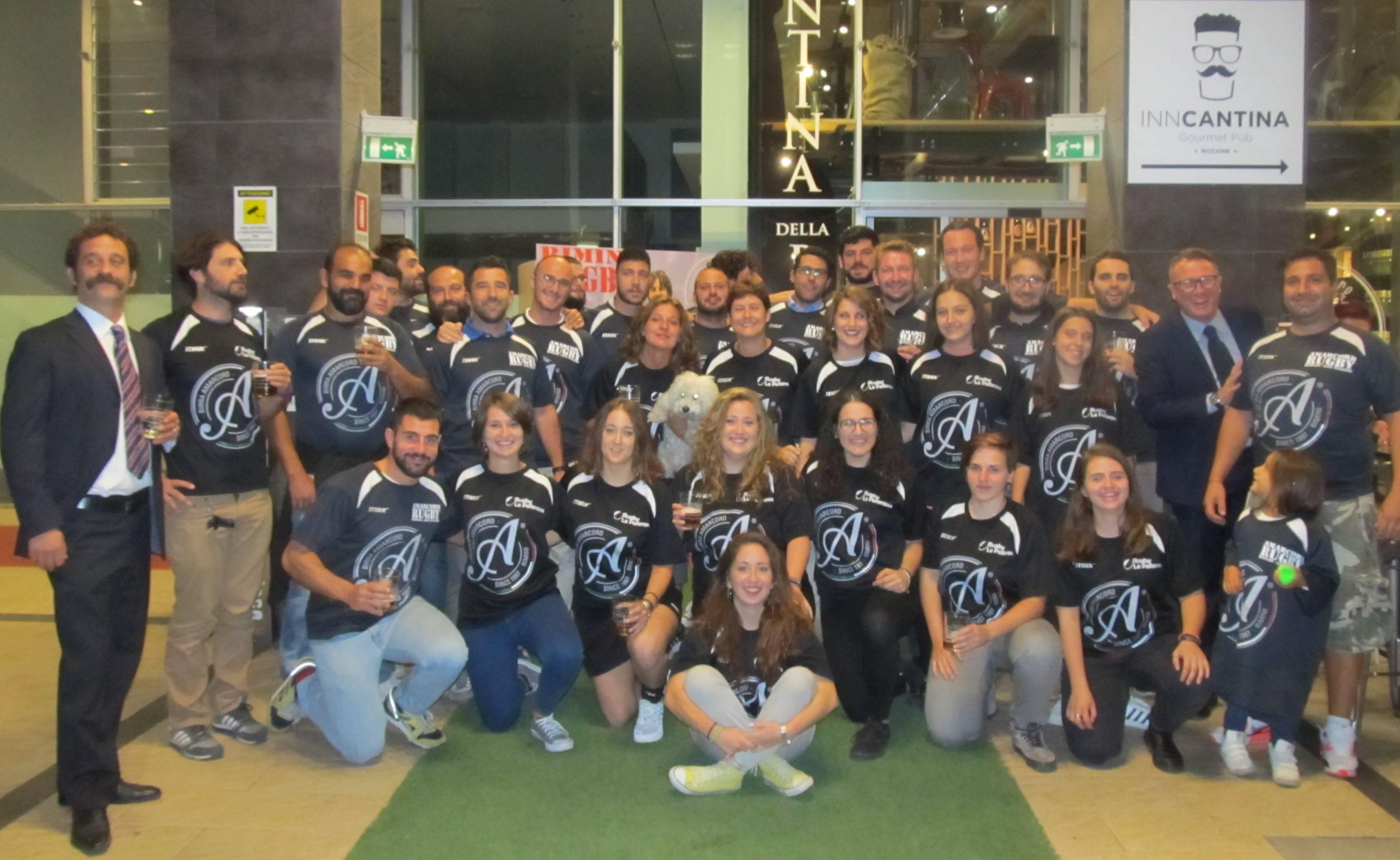 Le Pellerossa e Amarcord Rimini Rugby San Marino hanno presentato la stagione 2016-2017