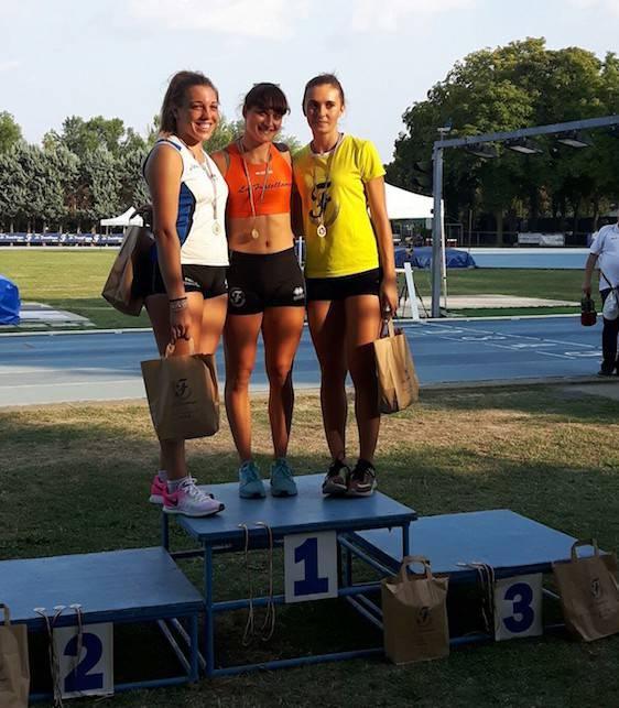 Atletica 62 Riccione. Ai Regionali individuali Laura Casadei vince nel martello, 2° posto per Jessica Mazzola