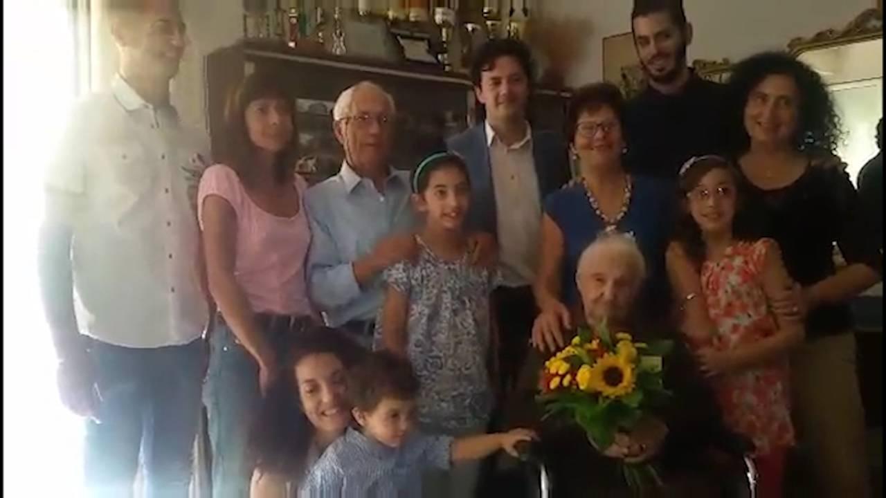 Nonna Maria Donati soffia su 109 candeline. È la più longeva della provincia di Rimini