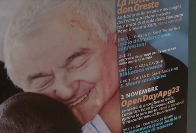 Anniversario scomparsa don Oreste. Il ricordo nel nome dell'accoglienza