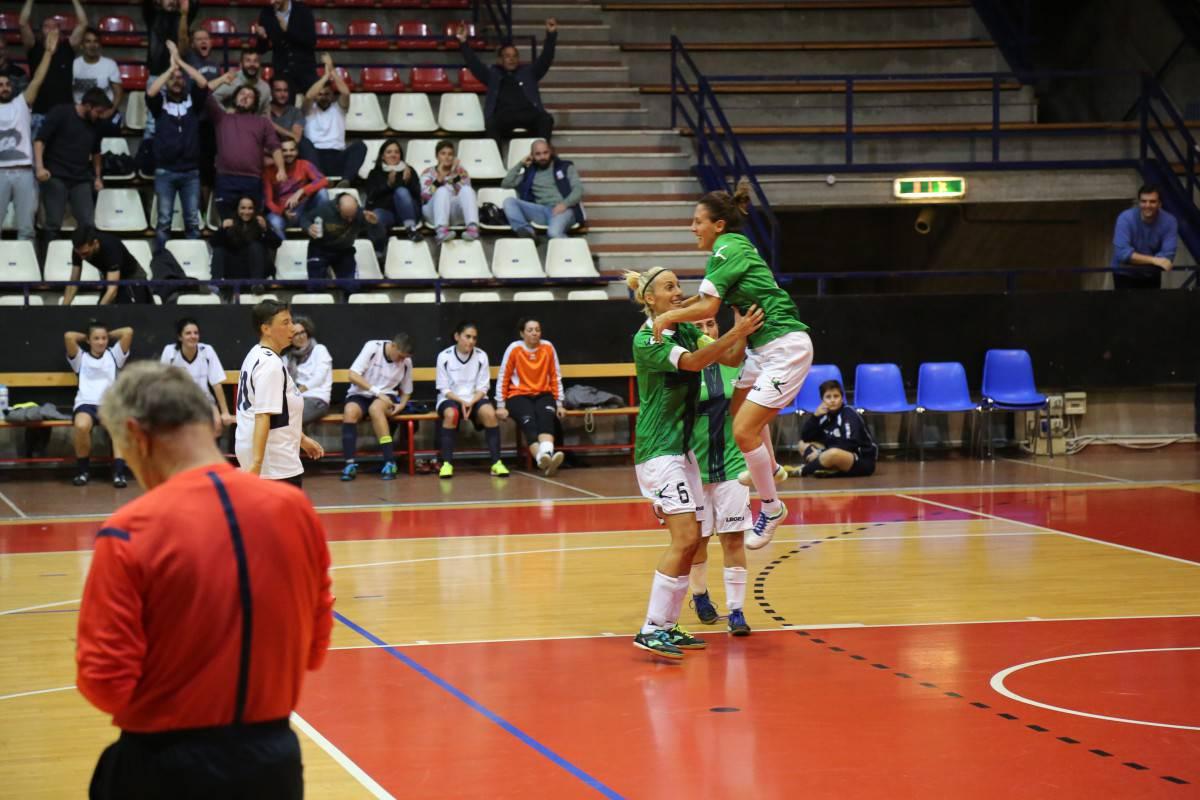 Calcio a 5 CSI Femminile. Solaris Futsal Viserba-Smile Team 3-1