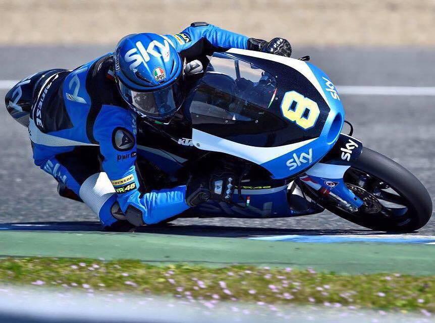 Nicolò Bulega scatterà domani dalla terza casella della griglia di partenza al GP d'Australia.