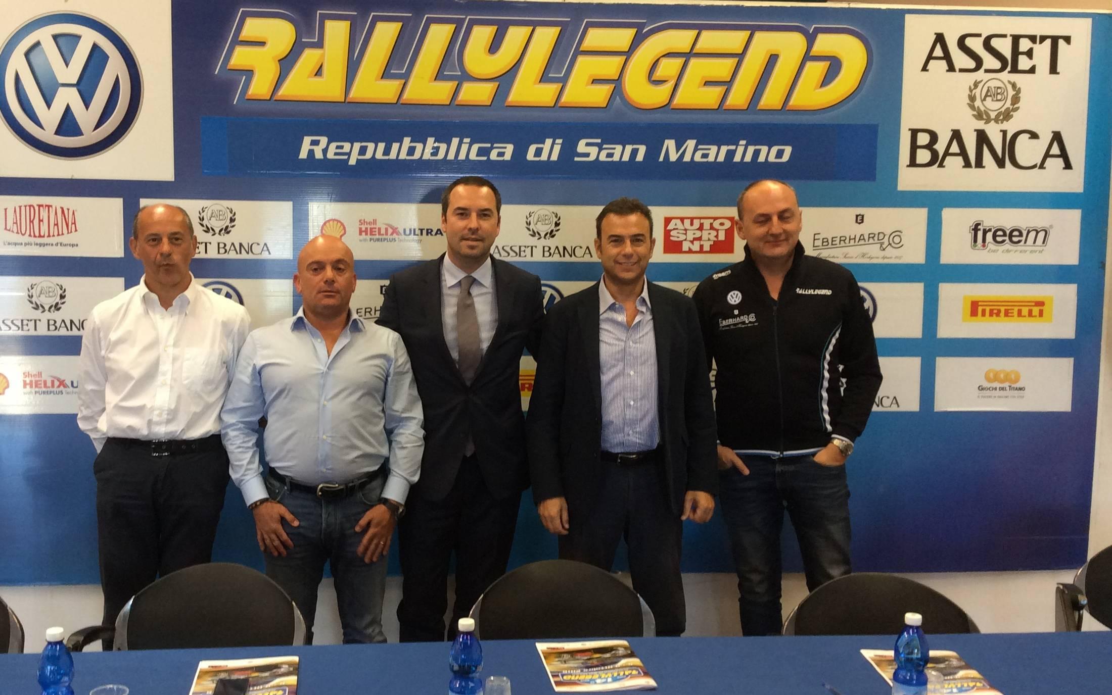 Presentata la 14a edizione di Rallylegend